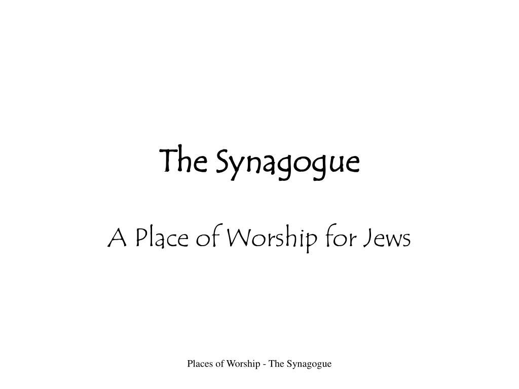 the synagogue l.
