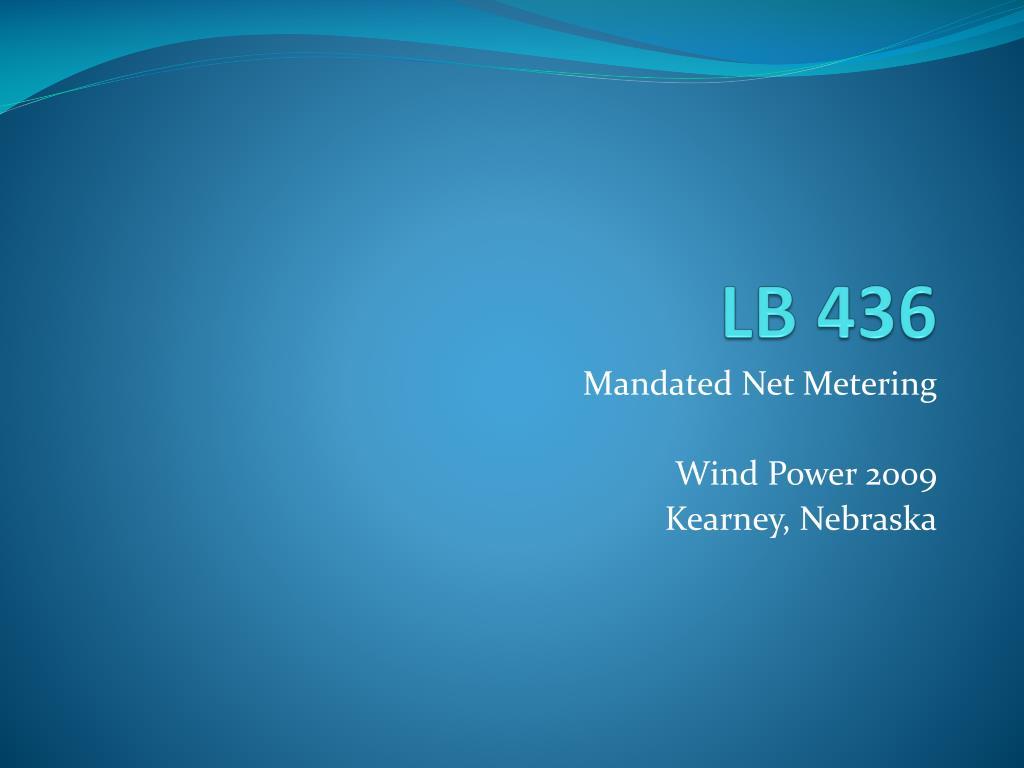 lb 436 l.