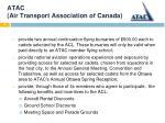 atac air transport association of canada