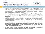 cac canadian airports council