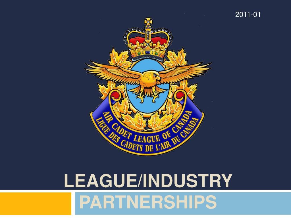league industry partnerships l.
