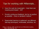 tips for working with millennials26