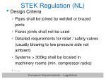 stek regulation nl