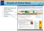 growth of online news