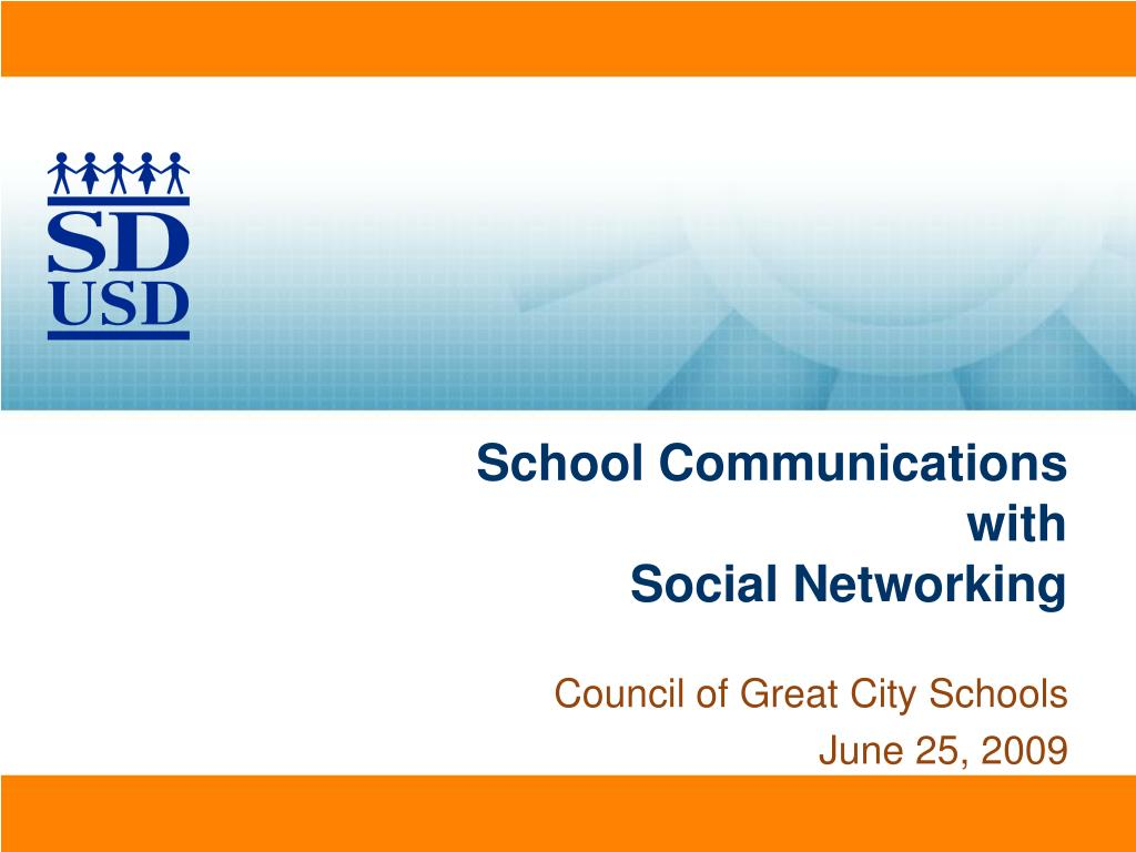 school communications with social networking l.