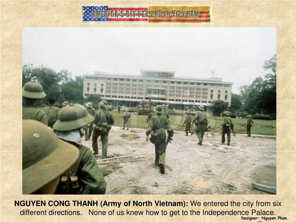 NGUYEN CONG THANH (Army of North Vietnam):