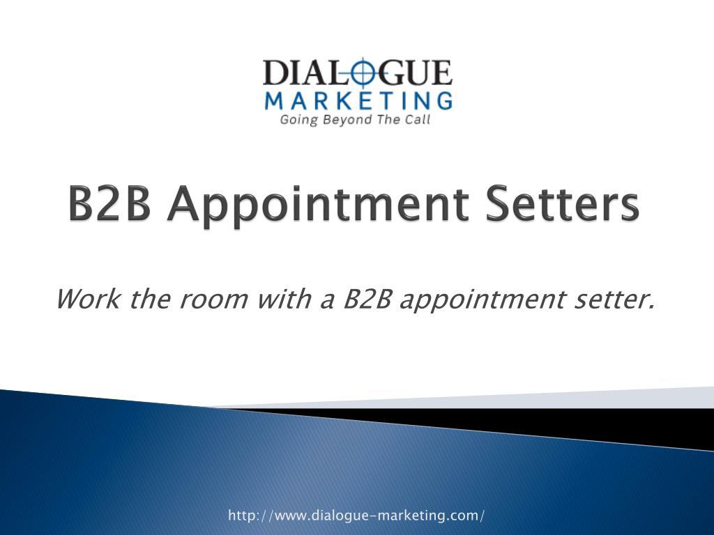 b2b appointment setters l.