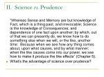 ii science vs prudence13