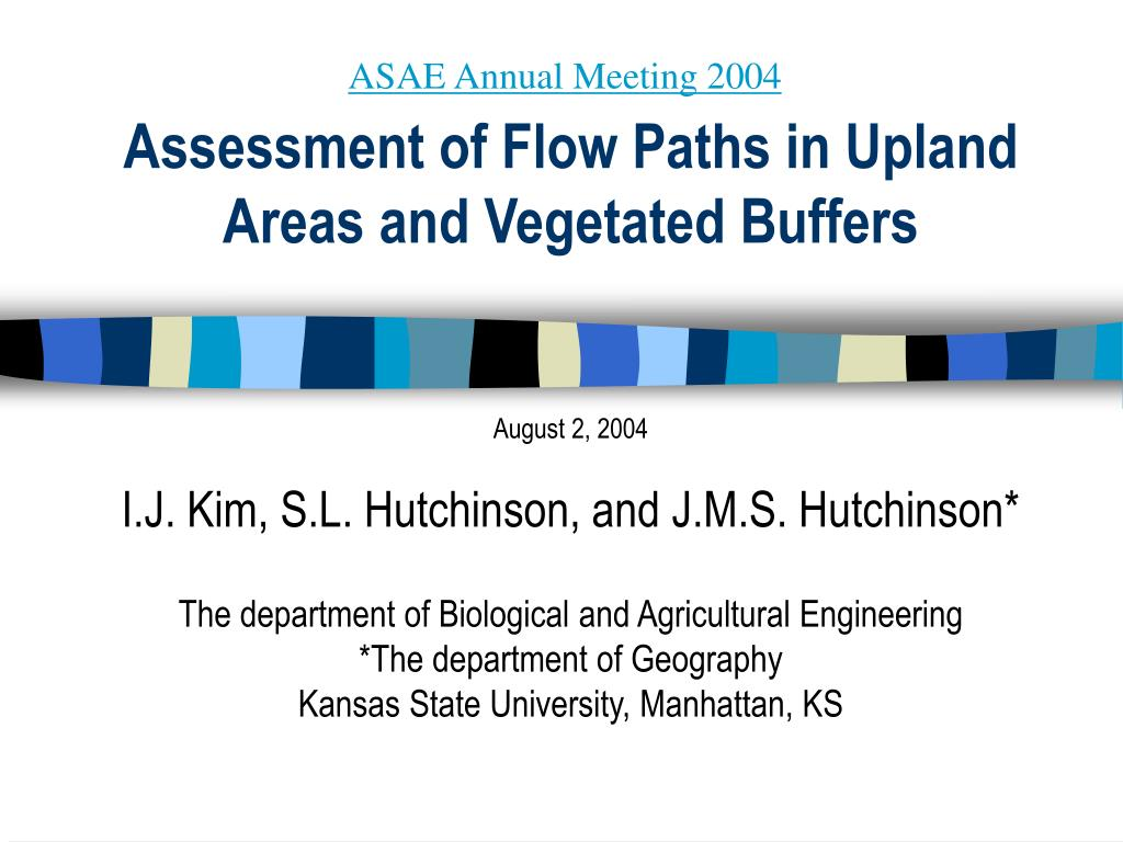 assessment of flow paths in upland areas and vegetated buffers l.