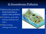 4 groundwater pollution