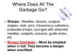 where does all the garbage go
