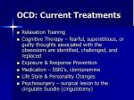 ocd current treatments