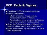 ocd facts figures