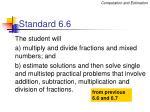 standard 6 6