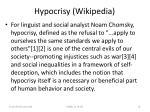 hypocrisy wikipedia19