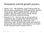 temptation and the growth process