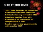 rise of milosevic