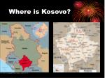 where is kosovo