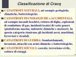 classificazione di cracq