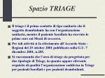 spazio triage