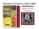 flannery o connor 1925 1964