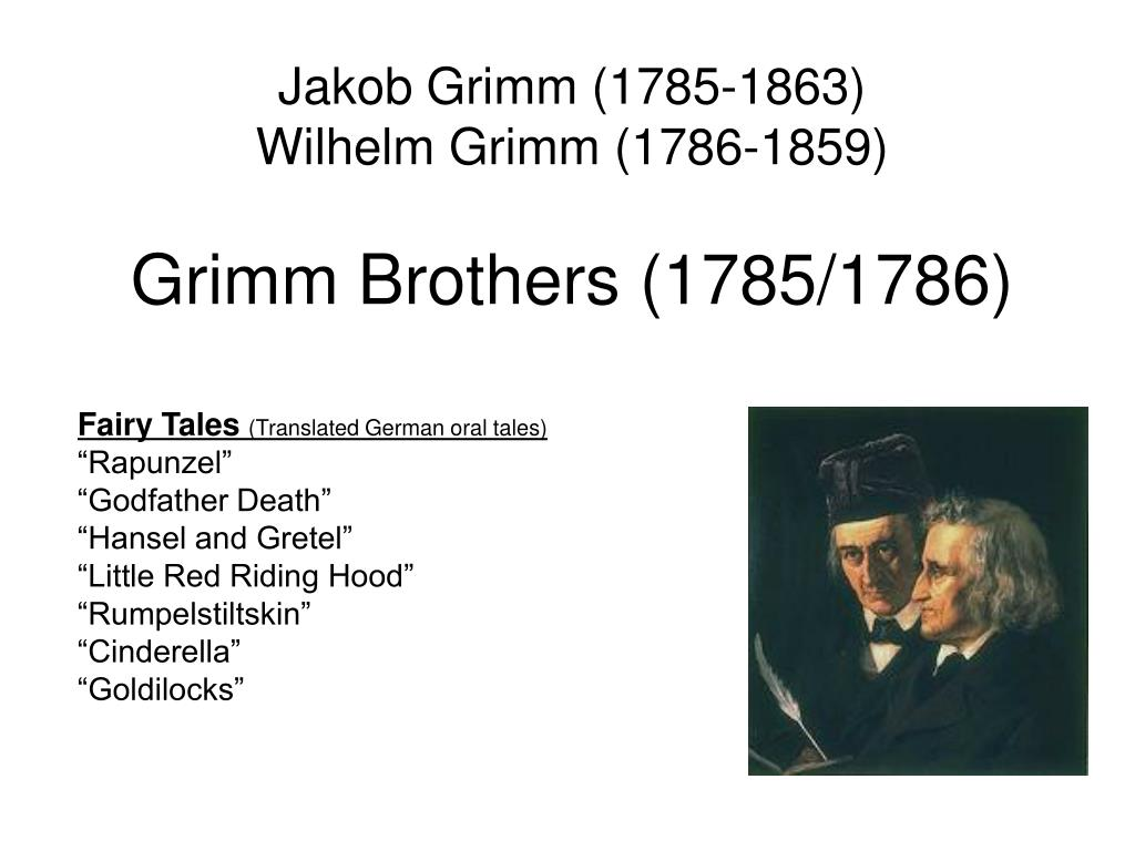 a literary analysis of godfather death by jakob and william grimm