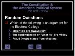 the constitution the american political system unit test review60