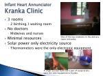 infant heart annunciator kranka clinic