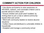 commnity action for children13