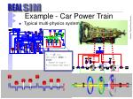 example car power train