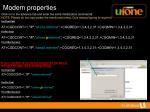 modem properties11