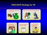 who dots strategy for tb