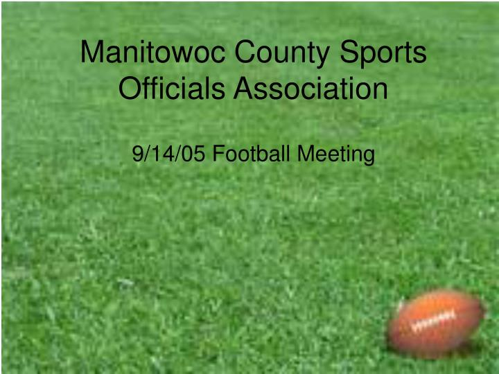 manitowoc county sports officials association n.