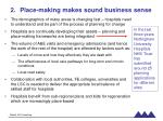 place making makes sound business sense