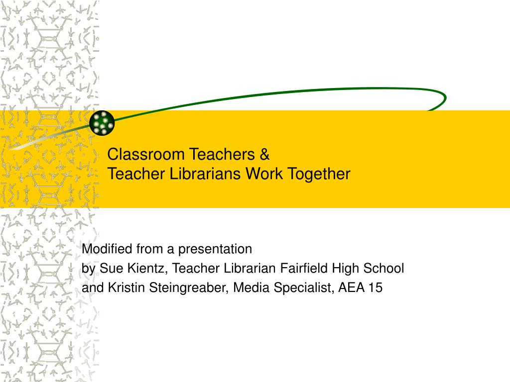 classroom teachers teacher librarians work together l.