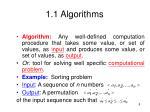 1 1 algorithms