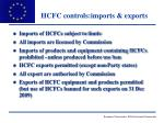 hcfc controls imports exports