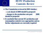 hcfc production controls review