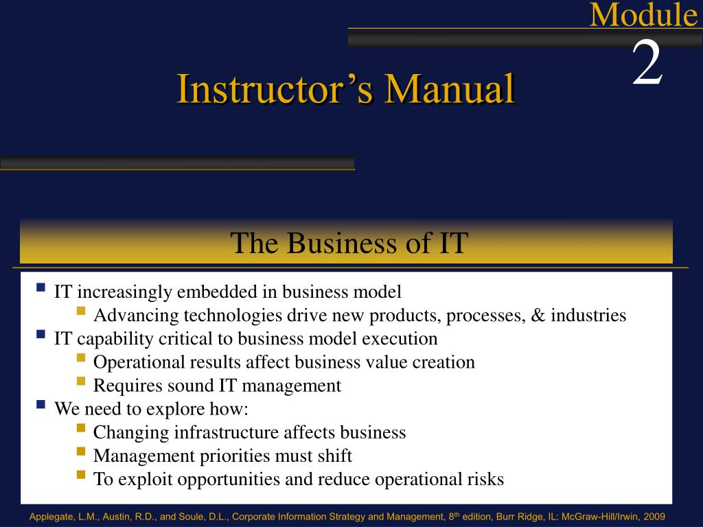 the business of it l.