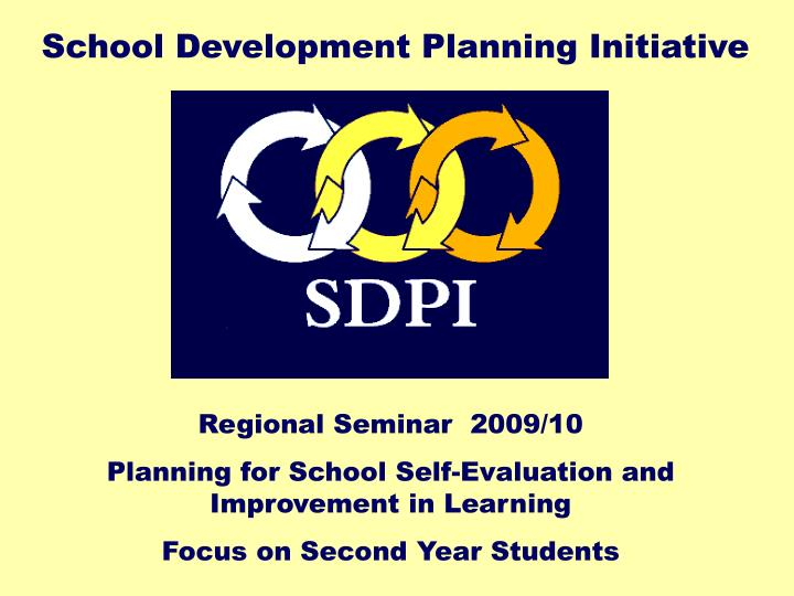 School Development Planning Initiative