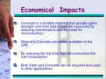 economical impacts