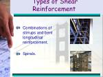 types of shear reinforcement22