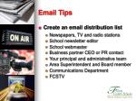email tips25