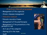 practice clinical processes