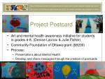 project postcard