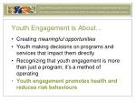 youth engagement is about