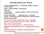 antiinflamatuvar tedavi