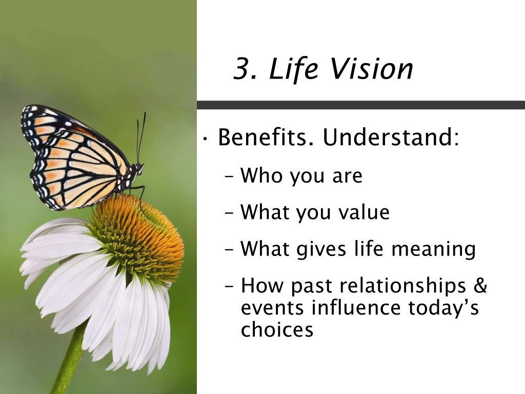 3. Life Vision