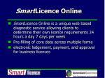 smart licence online