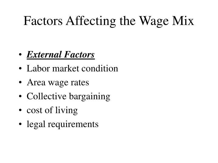 factors affecting collective bargaining
